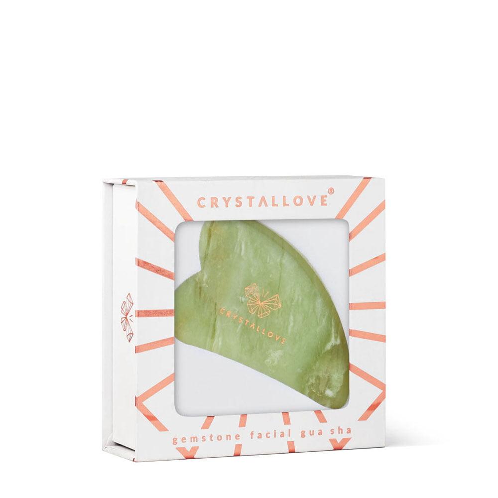 crystallove płytka jadeitowa do masażu gua sha - pomysł na prezent