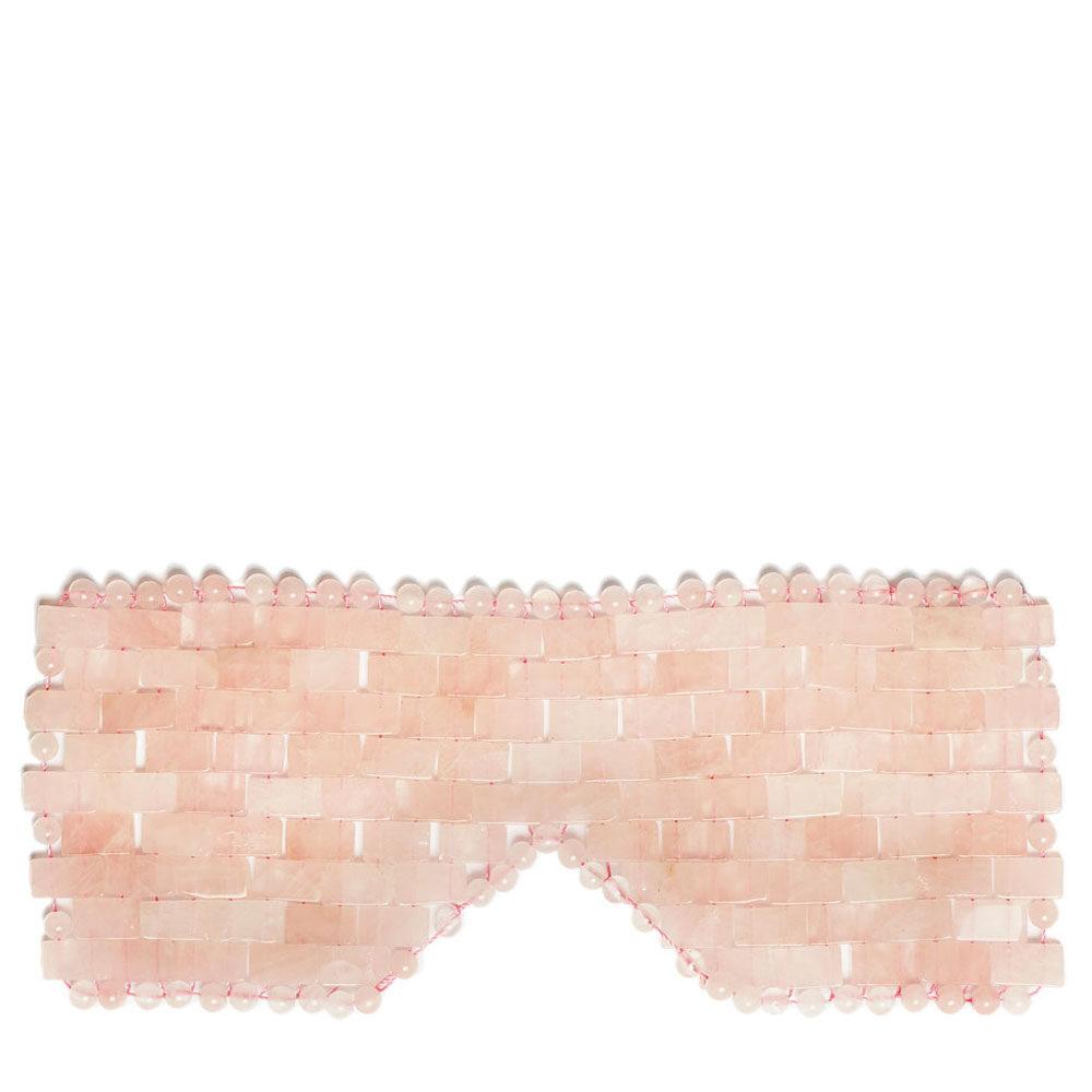 crystallove maska na twarz i cialo z kwarcu rozowego