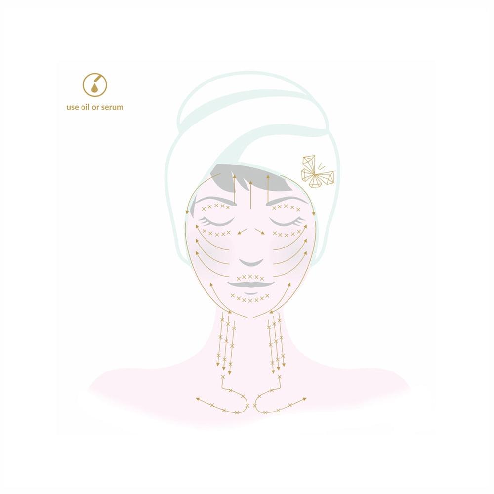 jak wykonywać masaż twarzy bańką silikonową