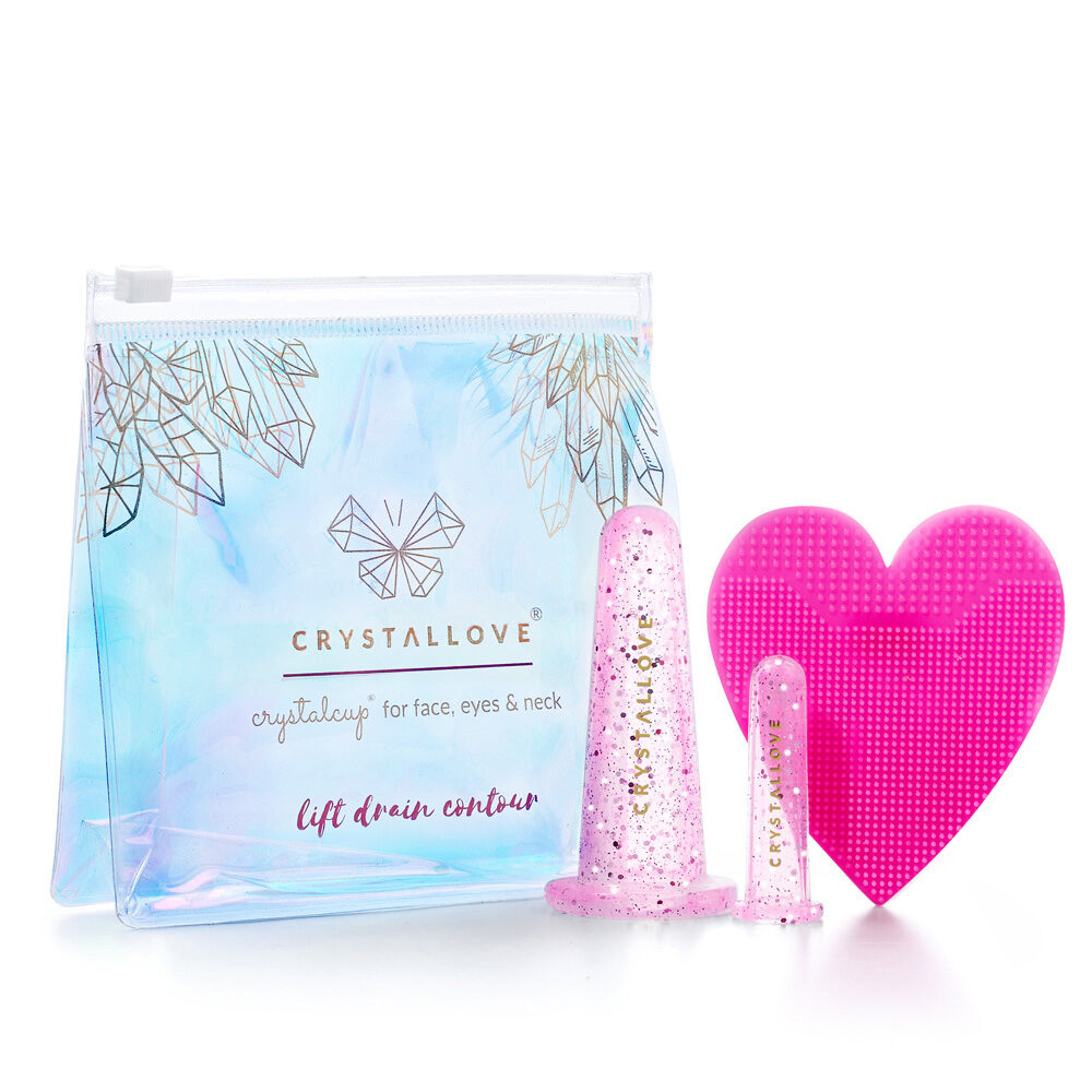 crystallove bańki do masażu twarzy