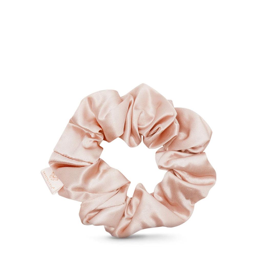 crystallove gumka do wlosow z jedwabiu gold - scrunchie